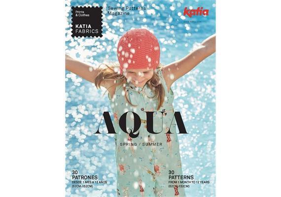 Katia Fabrics Nähheft AQUA franz. FS 2020
