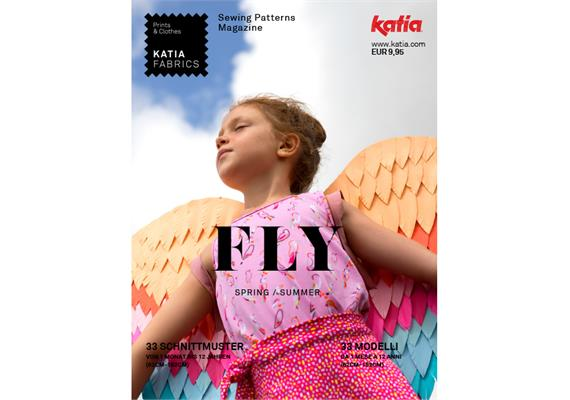 Katia Fabrics Nähheft FLY deutsch