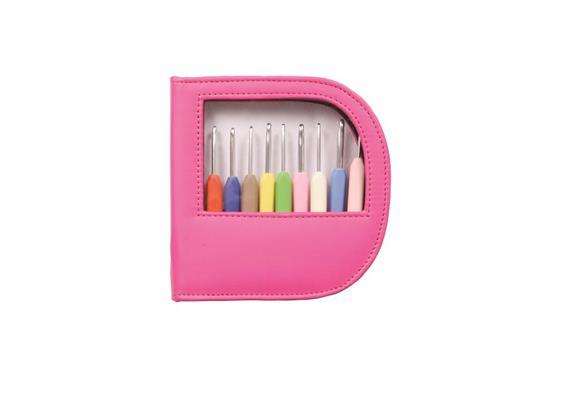 KnitPro Häkli-Set pink