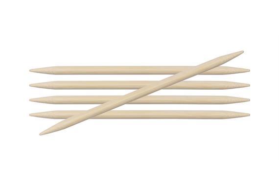 KnitPro Nadeln Bambus Spiel 20cm 6.0