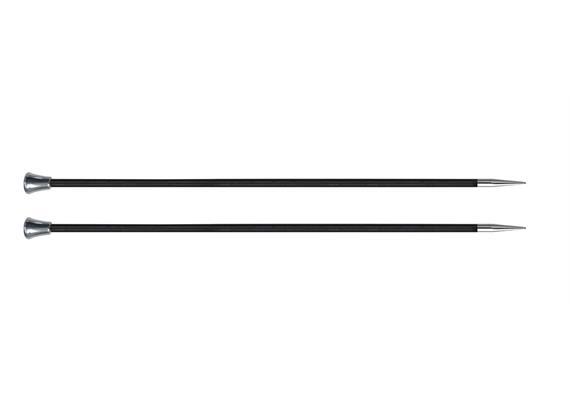 KnitPro Nadeln Karbonz Paar 35cm 4.0