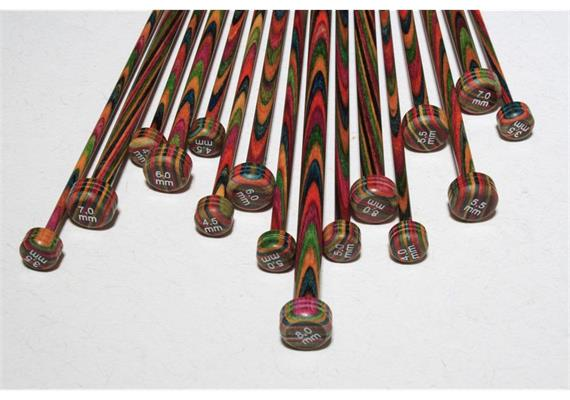 KnitPro Nadeln Symfonie Paar 30cm 6.0