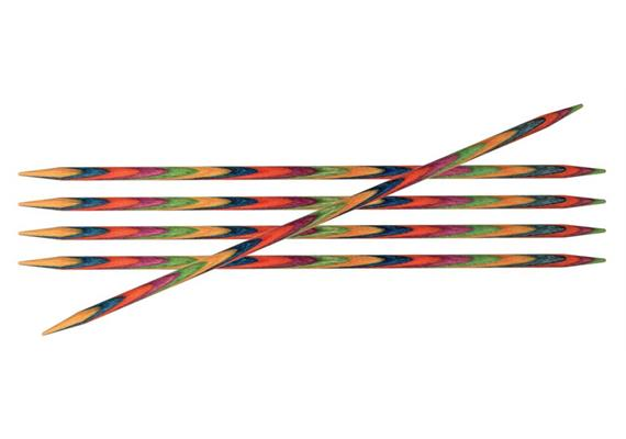 KnitPro Nadeln Symfonie Spiel 15cm 4.0