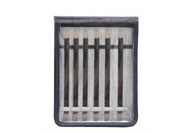 KnitPro Nadelspiel-Set Karbonz 20cm