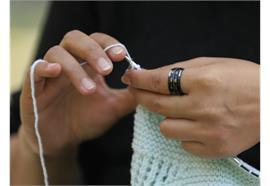 KnitPro Reihenzähler-Ring schwarz Grösse 8