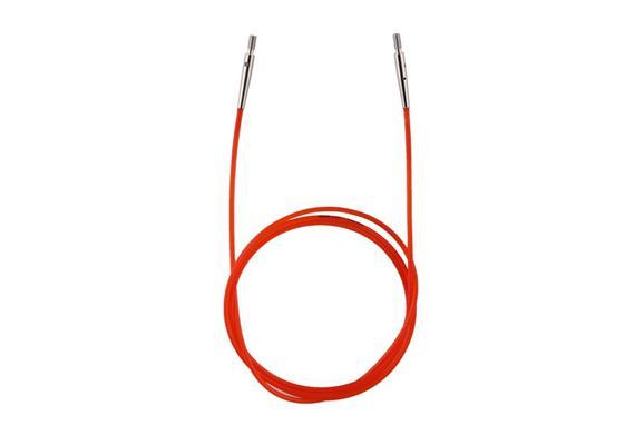 KnitPro Seil für Rundstricknadeln 100cm rot