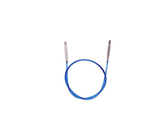 KnitPro Seil für Rundstricknadeln 50cm blau