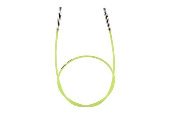 KnitPro Seil für Rundstricknadeln 60cm neon grün
