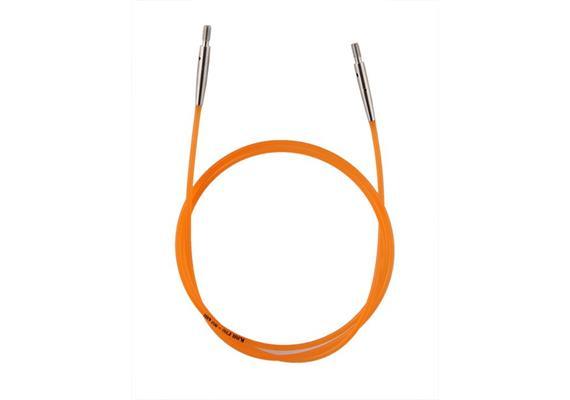 KnitPro Seil für Rundstricknadeln 80cm orange