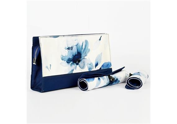 KnitPro Tasche mit 2 aufrollbaren Hüllen Serie Blossom