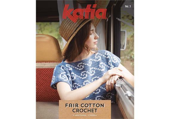 Strickheft Katia Fair Cotton Nr. 01 deutsch FS 2020