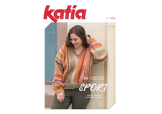 Strickheft Katia Sport Nr. 104 deutsch HW 20-21